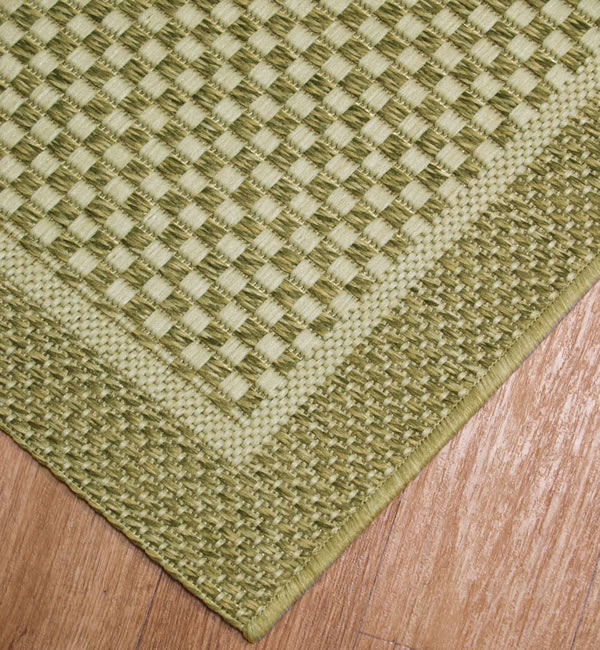 Natural look rugs rug shop for Green and cream rugs